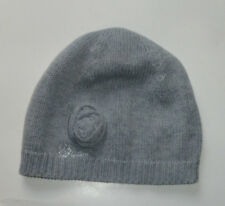 NEW GUESS GREY KNITTED BEANIE HAT ONE SIZE