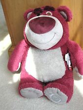 "NEW Disney Store Toy Story 3 LOTSO Plush Stuffed 12"" Bear Doll Toy Strawberries!"