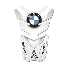 Motorcycle Tank Pad Protector Sticker | (BMW) R1200 GS White
