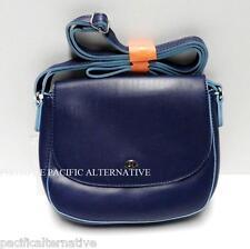 Petit sac a main bandouliere bleu DAVID JONES pour femme besace handbag NEUF #1