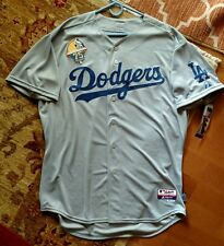 2014 Authentic Los Angeles Dodgers 4th of July Jersey 52