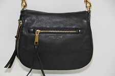 MARC JACOBS 'RECRUIT' BLACK LEATHER CROSSBODY