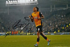HULL CITY HAND SIGNED ABEL HERNANDEZ 12X8 PHOTO 6.