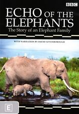 Echo of the Elephants (Narrated by David Attenborough) New DVD R4