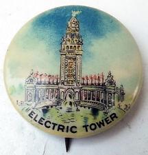 1901 Pan-American Exposition Pinback - Electric Tower (Button/Pin Expo Souvenir)