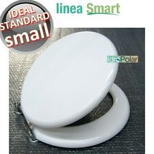 NUOVO SEDILE ASSE WATER COPRI WC BIANCO SMALL IDEAL STANDARD MARCA ACB ERCOS