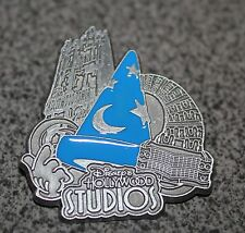 DISNEY PIN SORCERER HOLLYWOOD STUDIOS TOWER OF TERROR THEME PARK ICONS