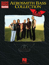 Aerosmith Bass Collection Bass Recorded Versions Tab Book NEW!
