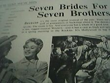 film item 1950 article seven brides seven brothers storyboard story