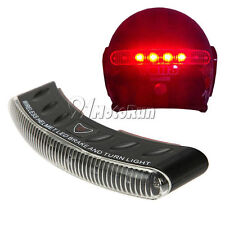 LED Wireless Motorcycle Full Face Helmet Brake Stop Turn Signal Light Indicator