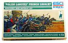 ESCI ERTL # 218 - 1/72 scale 1815 Polish Lancers French Cavalry - mint boxed set