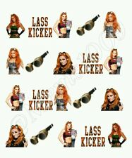 WWE Becky Lynch Nail art water decals Free shipping