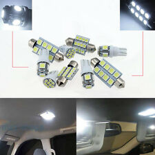 White LED Interior Light Kit Package 18 bulbs 6000k Fit GMC Yukon XL 2000-06 W1