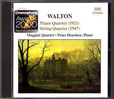 Walton pianoforte & String Quartet Peter Donohoe Maggini quartetto pianoforte QUARTETTO CD