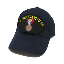 Vietnam Era Veteran Patched Baseball Adjustable Snapback Navy Cap Hat - vev02