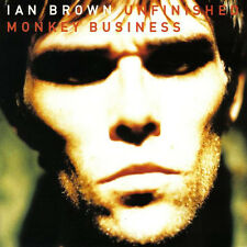 Ian Brown ( Stone Roses) - Unfinished Monkey Business POLYDOR RECORDS CD 1997