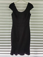 REVIEW sz 8 womens Black  dress RRP$300+
