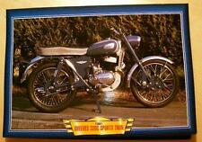 GREEVES 32DC SPORTS TWIN 1961 325 CLASSIC  MOTORCYCLE BIKE 1960'S PICTURE