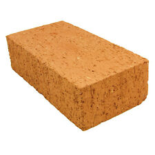 "6 NEW FULL SIZE WOOD OVEN FIRE BRICK REFRACTORY CLAY STRAIGHT CUT 9""X4.5""X2.5"""