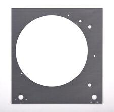 Thorens Deckplatte Platte face plate TD 150 titansilber glänzend eloxiert