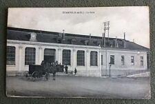 CPA. ETAMPES. 91 - La Gare. Attelage. 1908?