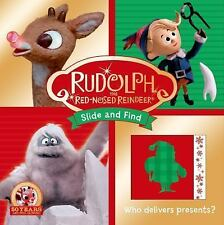 Rudolph the Red-Nosed Reindeer Slide and Find Children's Book