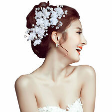 Best Women's Flower Wedding Bridal Party Handmade Hair Pin Clip Jewelry Fabulous