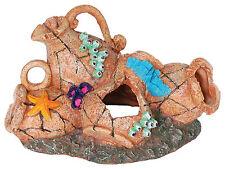 Rustic Pot Collection Aquarium Ornament Fish Tank Decoration