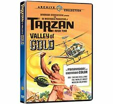 TARZAN AND THE VALLEY OF GOLD - (1966) Region Free DVD - Sealed
