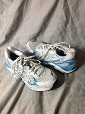 WOMENS ASICS GEL 2150 SZ. 7 Running Shoes, Baby Blue, Teal, EUC Sneakers
