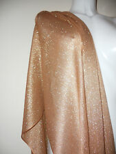 NEW OLD GOLD SCARF GLITTED SCARVES SHAWLS  STOLE GIFT SHAWL NIGHT PARTY PASHMINA