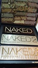 Urban Decay The Perfect 3Some Vault Naked Eyes Shadow Palettes Limited Edition