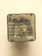 Relé FEME RCP11 AC 110V 10a
