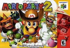 Nintendo 64 N64 Mario Party 2 Video Game Cartridge *Cosmetic Wear*