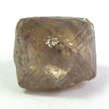 2.61 Carats Uncut Raw Gemmy COGNAC Octahedron Natural Rough Diamond