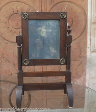 PSICHE alzatina epoca primo Impero con fregi, specchio al mercurio