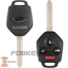 New 2012 -2013 Subaru Impreza 4 Button Remote Key