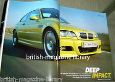Evo Magazine Issue 25 BMW M3 E46 Vanquish Elise Mercedes 190E Cosworth Exige 190