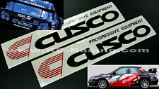 Cusco Stickers Decals GT86 Evo WRX Type R 350Z 370Z BRZ FREE SHIPPING x 2