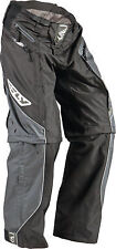 NEW FLY RACING PATROL BLACK ATV  MX BMX MTB RACING PANTS  size 30
