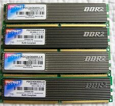 2 Sets of Patriot Extreme Performance 4GB (2 x 2GB) DDR2 for a total of 8GB