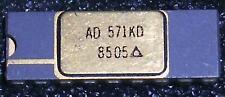1 Stück AD571KD - 10 Bit A/D-Wandler Gold/Ceramic DIP 18