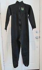 Women's Aeroskin XL Full Body Spine/Kidney/Knee Protection Scuba Wetsuit Black