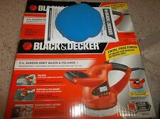 Black & Decker 6-in Random Orbit Waxer-Polisher WP900 NEW