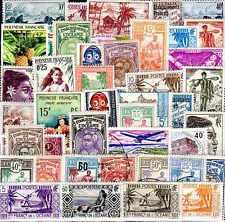 Polynésie Française- Océanie 100 timbres différents