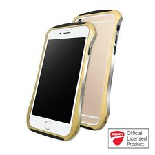 DRACO 6 Ducati Aluminum Hybrid Bumper Case for iPhone 6-CHAMPAGNE GOLD & Lanyard