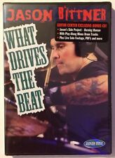 DRUMS!! JASON BITTNER What Drives The Beat - MINT NEW SEALED DVD!!