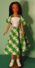 "Green Check St Patrick's Dress for 18"" Supersize Barbie or Tiffany Taylor SSHP68"