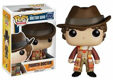 Pop Television! Doctor Who Fourth 4Th Doctor Vinyl Figure by Funko