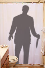 Creepy Stalker Shower Curtain Halloween Party Decoration